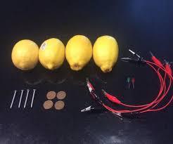Lemon Powered Light Lemon Batteries Lighting An Led With Lemons 3 Steps With