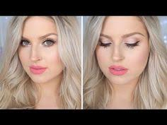 i typically use black eyeliner and black mascara but love this video using brown eyeliner