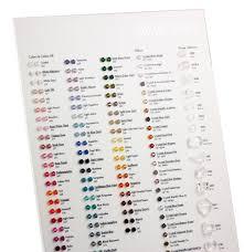 Swarovski 5328 Bicone Bead Crystals Color Chart