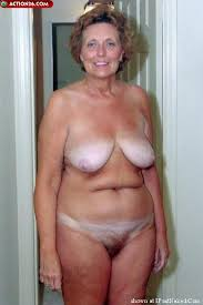Seventy year old naked women