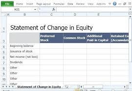 Equity Analysis Template Profit Margin Financial Dashboard Free