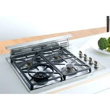 cooktop with vent. Gas Ranges With Downdraft Venting Down Vent Range Remarkable Stove Ventilation Home Design . Cooktop A