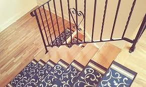 drop for treads skid runners steps stairs non carpet runner slip gorgeous rug stair interior fascinating