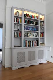 Wardrobe Company Floating Shelves Boockcase Cupboards Fitted Throughout  Radiator Covers And Bookcases (#15 of