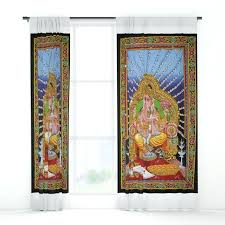 boho tapestry wall decor hanging art window curtains