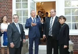 regional council president m novák ambassador l sečka and chairman of the czech
