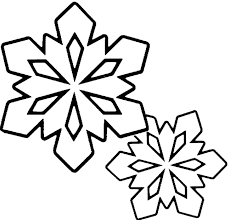 country snowflake clipart. Modren Snowflake Winter Coloring Pages  Snowflakes Clip Art Black And White For Country Snowflake Clipart N