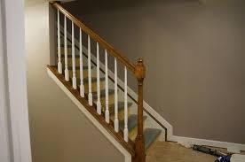 Stair Railing Ideas Basement Best House Design Best Stair