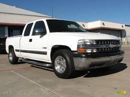 2002 Summit White Chevrolet Silverado 1500 LS Extended Cab ...