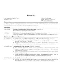 Best Resume Format For Software Engineers Software Developer Resume