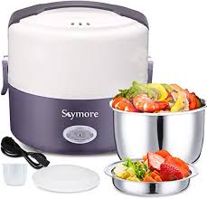Skymore <b>Electric Lunch</b> Box, Mini Rice <b>Cooker</b>, Electric Food ...