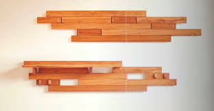 Wall Mounted Wood Coat Rack