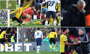 Watford 0-0 Tottenham: Pussetto saves Hornets with goalline ...
