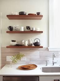 Kitchen Shelf Decorating Kitchen Shelf Rack White Round Dining Table Wood Hanging