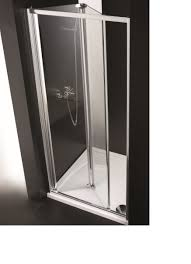 alcove shower 3 sided 800 w bifold door f1 80