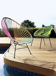 Image Funky View In Gallery Colorful Pvc Cord Chairs Decoist Unique Outdoor Furniture Ideas For Summer