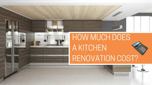 Estimate For Kitchen Remodel How Much Does A Kitchen Renovation Cost Free Calculator Youtube