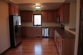 American Kitchen Cabinets Quarter Sawn Oak Cabinets With Early American Stain Mission