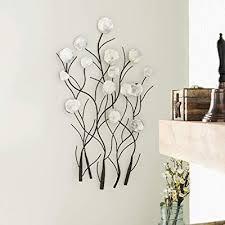 benzara metal capiz wall decor