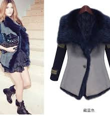 2016 winter jacket women luxury faux fur coat