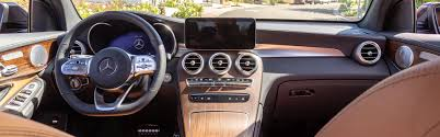 Your new coupe is waiting. 2020 Mercedes Benz Glc Suv Interior Features Fletcher Jones Motorcars