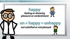 base words definition exles video lesson transcript study