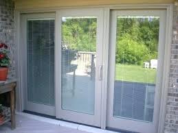 screen door blinds interesting sliding for your patio design ideas with doors built in andersen s