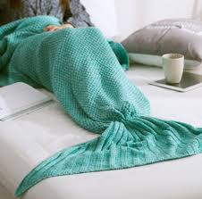 Mermaid Tail Blanket Knitting Pattern Enchanting Children Mermaid Tail Blankets Mermaid Tail Sleeping Bags Cocoon