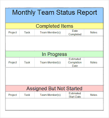 Project Report Templates   Free Sample  Example  Format