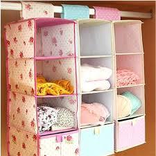 4 closet organizer 5 shelf hanging closet organizer brown