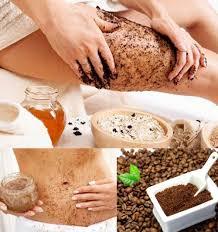Kết quả hình ảnh cho Cà phê tẩy da chết cho cellulite