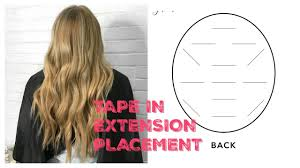 Tape In Extension Placement Blending And Styling