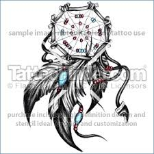 Dream Catcher Tattoo Stencils Dream Catcher Tattoo Template fidelitypointorg 83