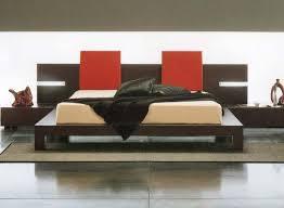 wooden bed back design. Wonderful Wooden The Design Ultramodern Monroe Platform Bedroom On Wooden Bed Back