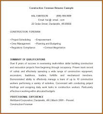 Free Construction Resume Templates Free Construction Resume Templates Resume Resume Examples