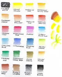 Sakura Poster Color Chart Color Chart 24 Sakura Koi By Robertsloan2 In 2019