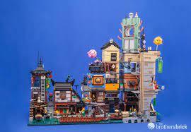 70657 Ninjago City Docks-44 | The Brothers Brick | The Brothers Brick | Lego  ninjago city, Lego architecture, Legos