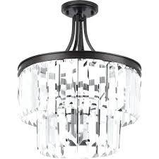 5 light crystal chandelier bay