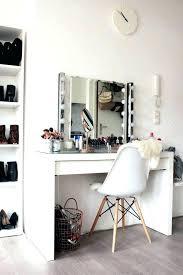 makeup desk ideas interior updated make up vanity tour mesmerizing interior updated make up vanity tour
