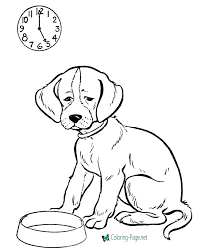 I then thought that dog coloring pages can be a good. Dog Coloring Pages