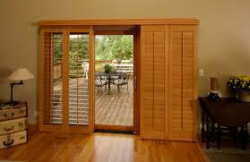 sliding glass door shutters in las