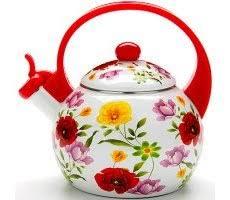 Купить <b>эмалированный чайник</b> для газовой плиты недорого в ...