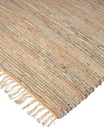 brilliance jute leather rug hand woven reversible area rugs by natural area rugs