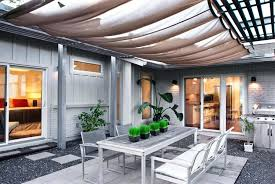 fabric awnings for patios shade cloth patio cover ideas home reviews easy unique patio image of