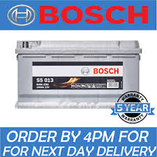 Details About Bosch Car Battery Uk Ref 019 12v 100ah Bosch Code S5013 5 Yr Gty Next Day