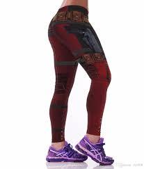 2019 new y women leggings superhero deadpool belt 3d printed polyester elastic fitness workout leggings pants from mz908 10 16 dhgate