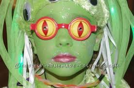 amazing alien girl costume