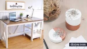 Office diy projects Industrial Office Diy Joy 34 Stylish Diy Home Office Furniture And Decor Projects