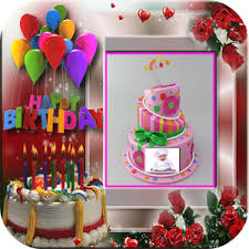Introduce To The New Photo Frames App Birthday Cakes Photo Frames