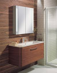 Mirrored Bathroom Cabinets Uk Aluminium Mirrored Illuminated Bathroom Cabinet From Crosswater